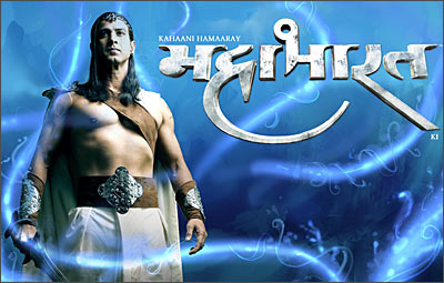 Bhima and Duryodhan fight it out with style