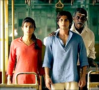 A scene from Kaminey