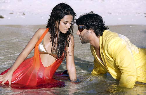 Amrita Rao and Arshad Warsi