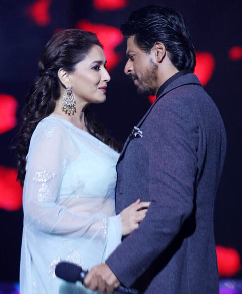 Image result for shahrukh madhuri