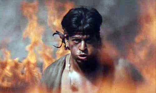 Image result for koyla shahrukh khan ending