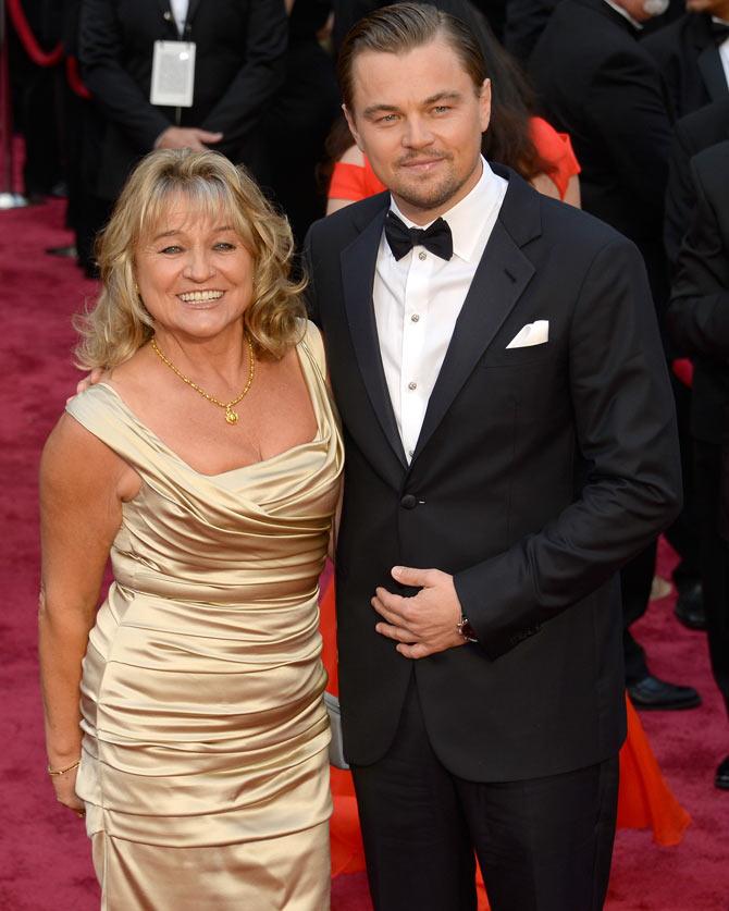 Leonardo DiCaprio and his mum Irmelin Indenbirken
