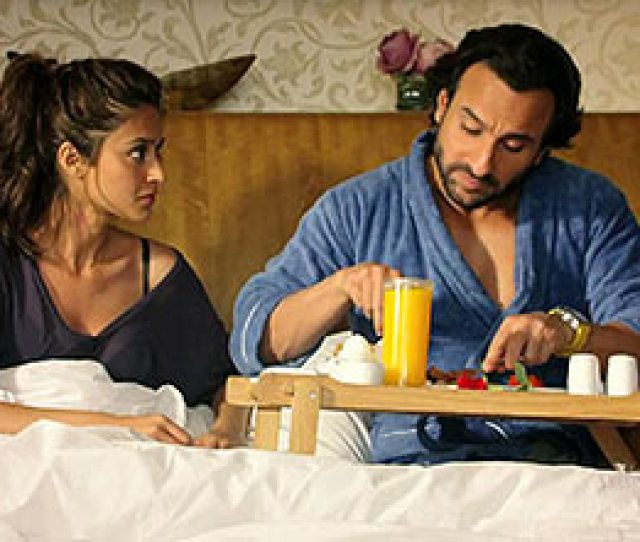 Ileana Dcruz Saif Ali Khan In Happy Ending