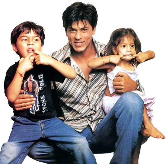 Image result for shahrukh khan children