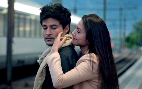 Rajeev Khandelwal and Gauhar Khan in Fever