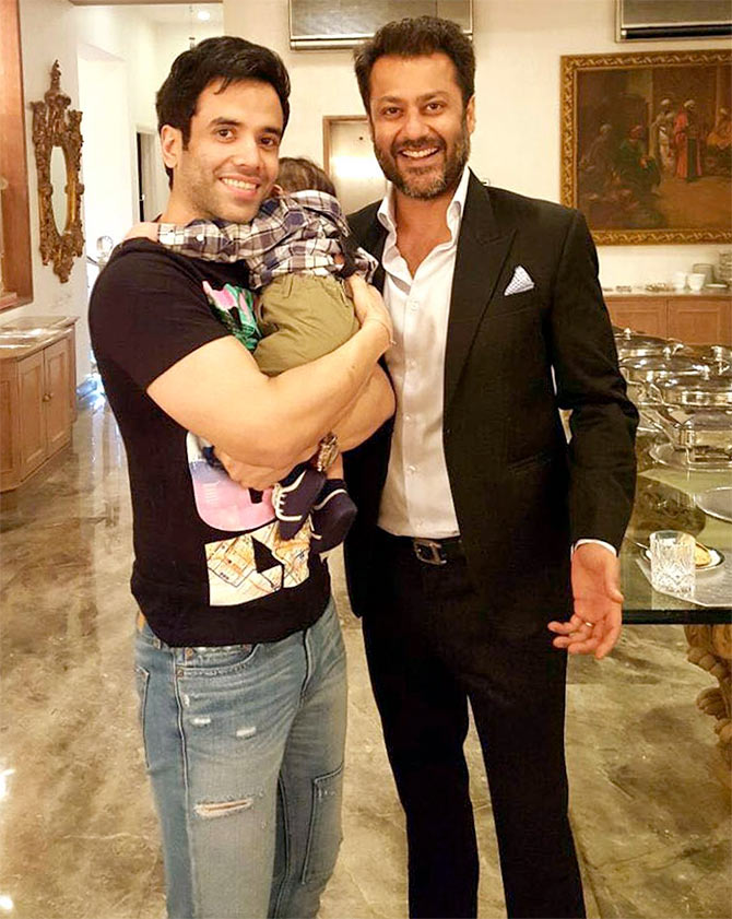 Image result for tusshar kapoor baby