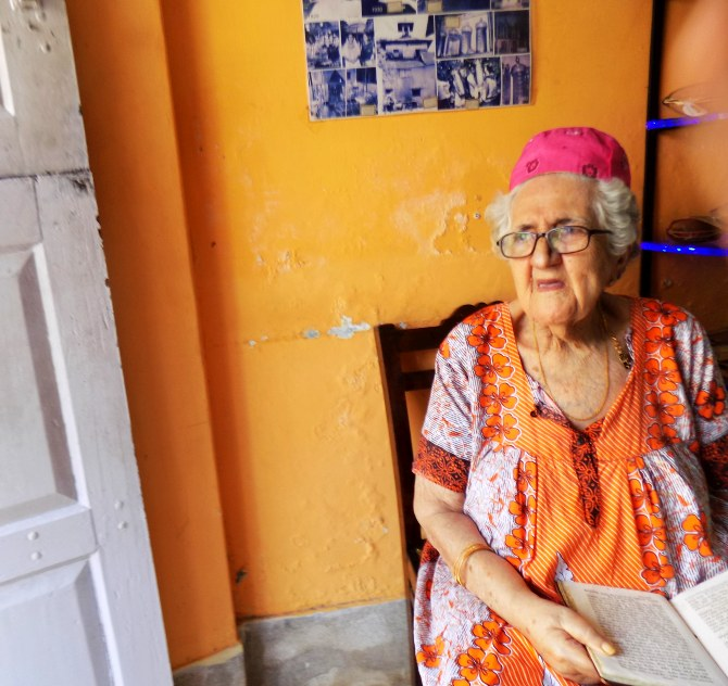Sarah Cohen, Kochi's oldest living Jew, 93 years old