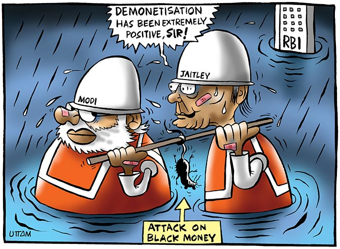 Image result for demonetisation, rbi report cartoons