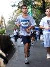 Nihad Panju at the 2016 Mumbai Marathon