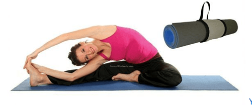 Yoga Exercise and Mats