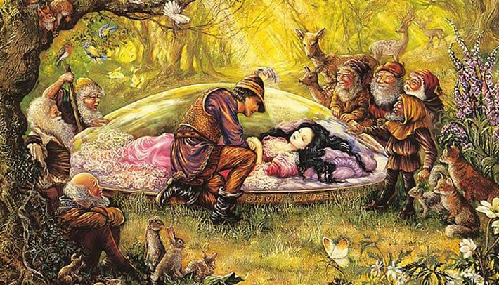 Resultado de imagen para blancanieves ilustracion