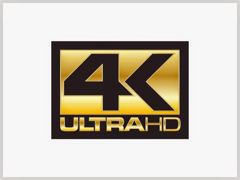 To λογότυπο 4Κ Ultra HD, που γνωρίζουμε.