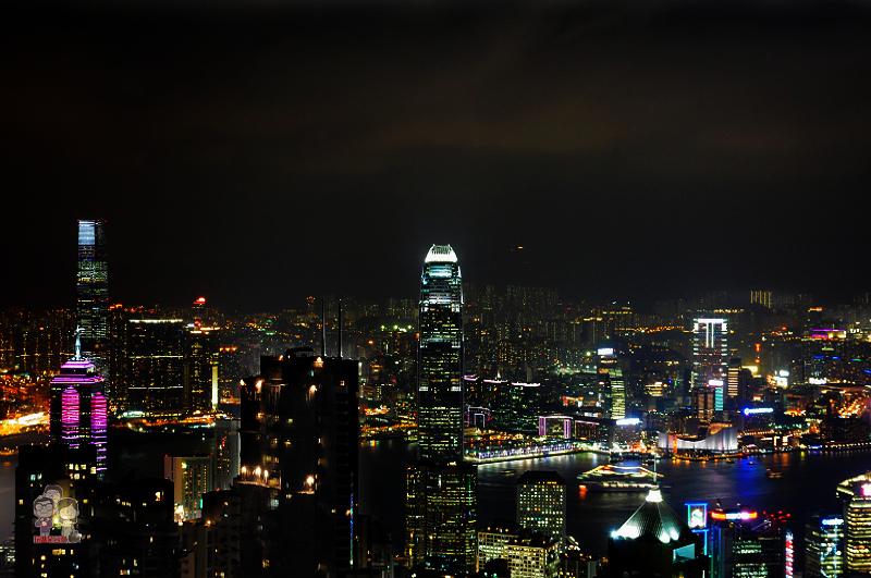 2013香港自由行|太平山夜景