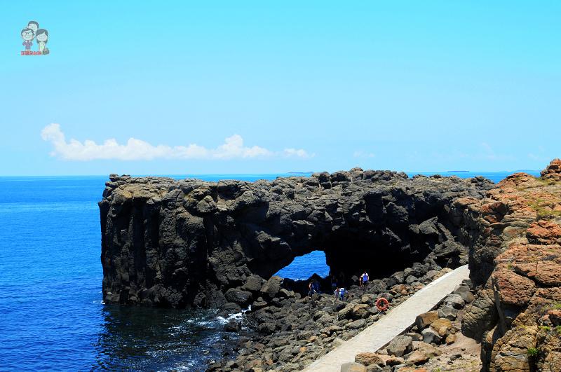 旅行菊島|澎湖北環景點.傳統菜宅、小門鯨魚洞