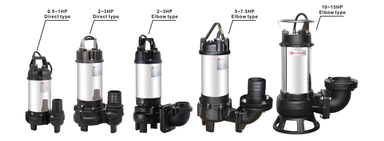 Taiwan Submersible Sewage Pump