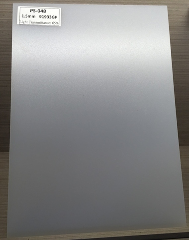 polystyrene diffuser sheet for led