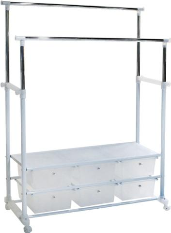 clothes rack with drawers ac6302