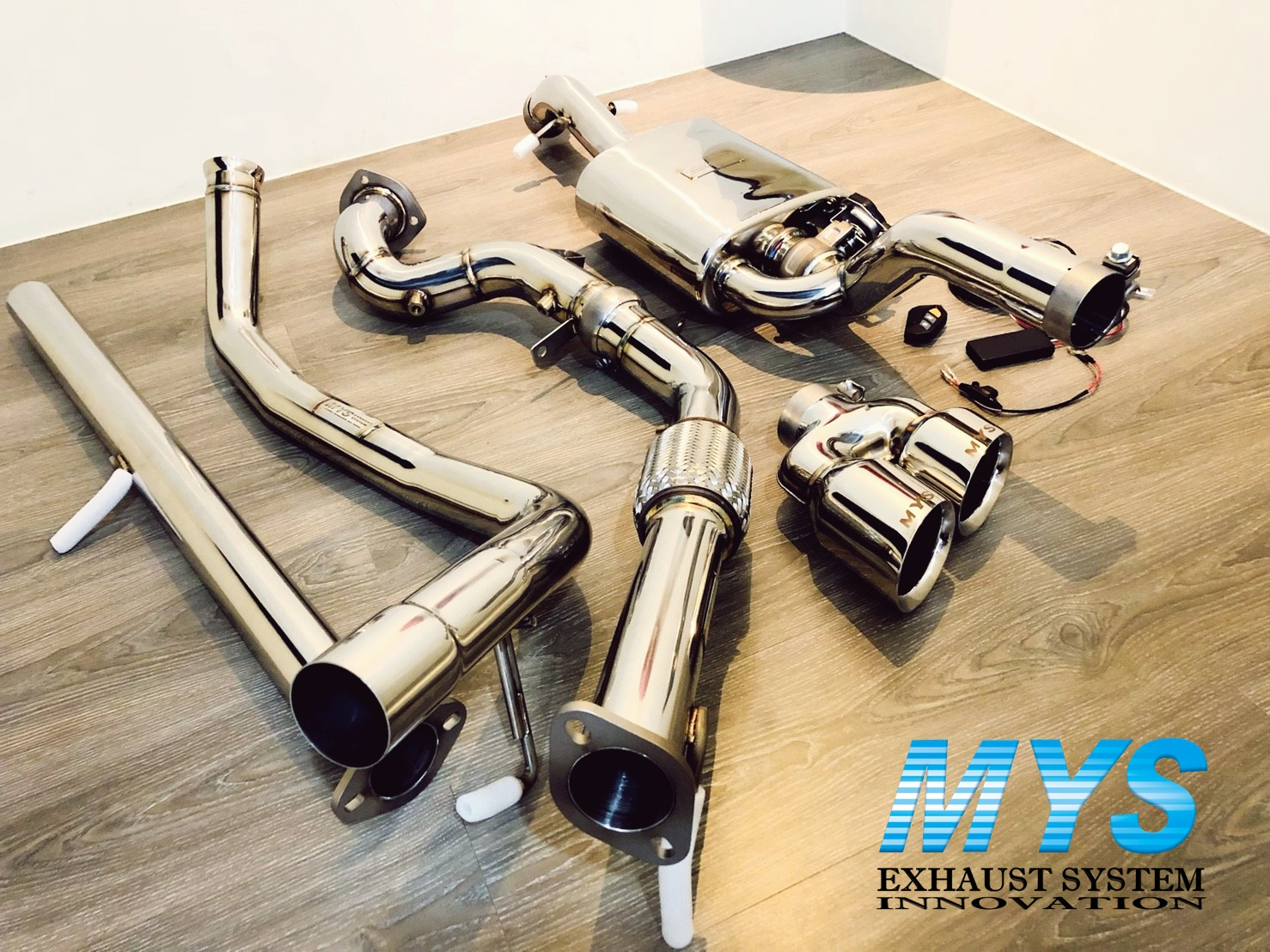 mys variable exhaust valve system kit