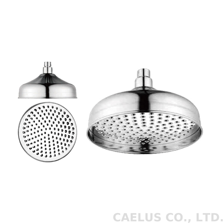 Caelus Rainfall Shower Head Round Brass Shower Head