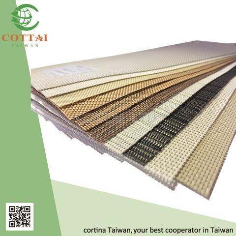 cottai fabric curtain set pvc sunscreen