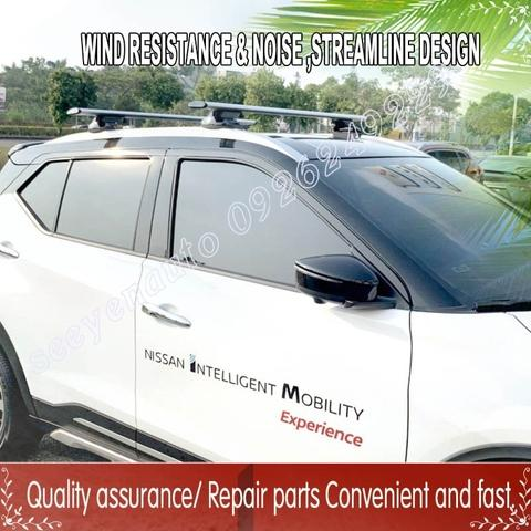 fixed points type roof rack cross bar