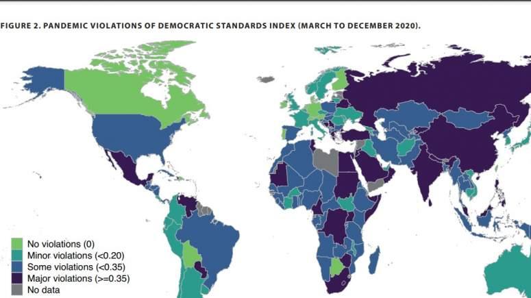 , Έκθεση Ινστιτούτου Γκέτεμποργκ: Η Ελλάδα σε χειρότερη θέση από την Ουγγαρία σε ζητήματα Δημοκρατίας, INDEPENDENTNEWS