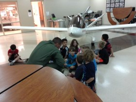 This is from our S.T.E.M. day last week with kindergarten.