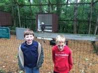 These happy first graders posed with some birds! :)