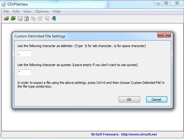CSV檔案開啟工具 CSVFileView02