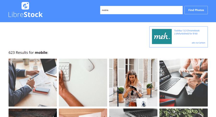 免費圖庫搜尋器 LibreStock02
