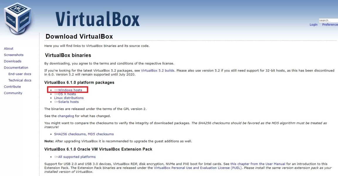 Virtualbox Win10免費中文版下載 虛擬電腦及作業系統的好工具