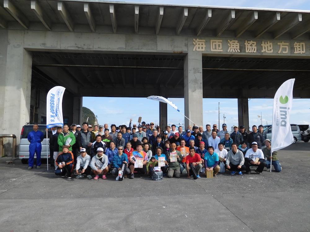 第9回K's CUP 一つテンヤ真鯛釣り大会