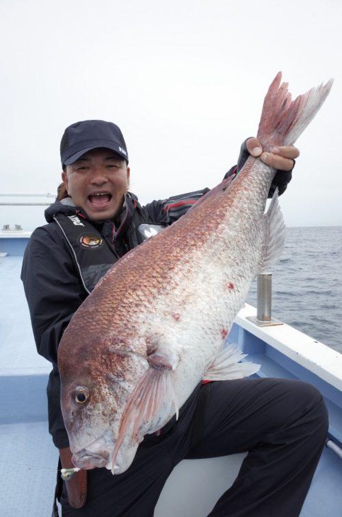 2015年9月大鯛キャッチ