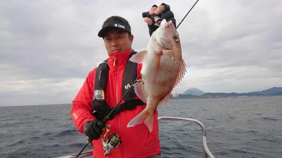 錦江湾で良型真鯛を狙いたい!