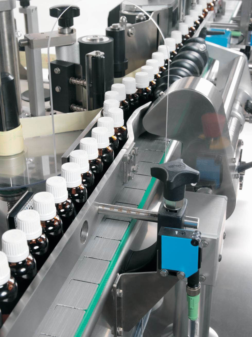 Sensitive 350 Labelling Machine For Cylindrical