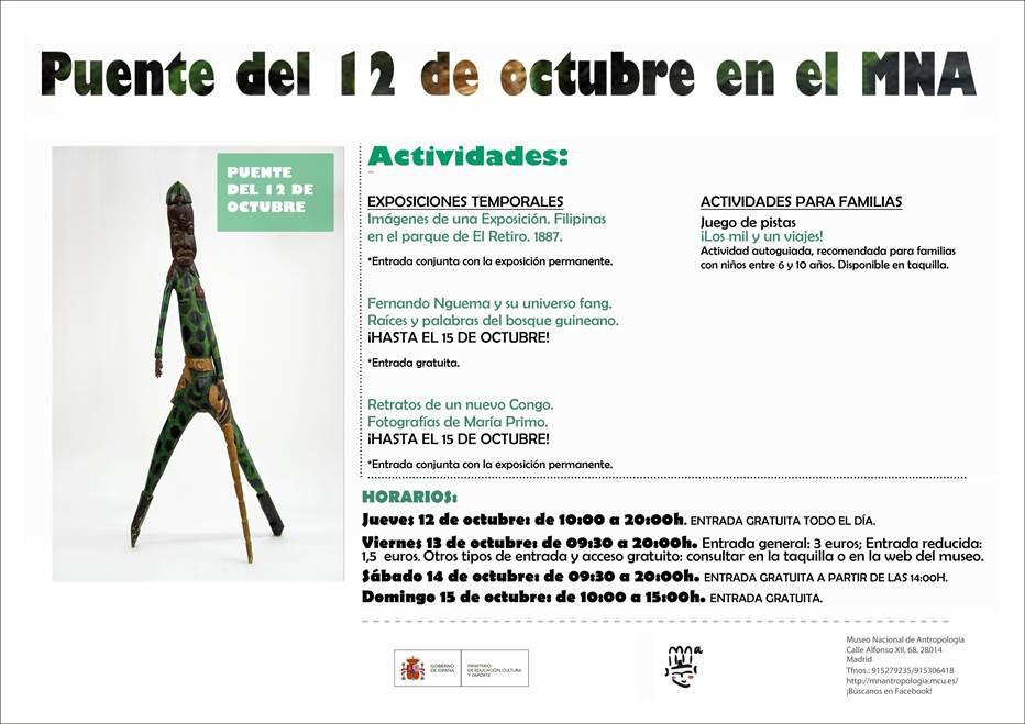 puente de 12 de octubre en el museo nacional de antropologia