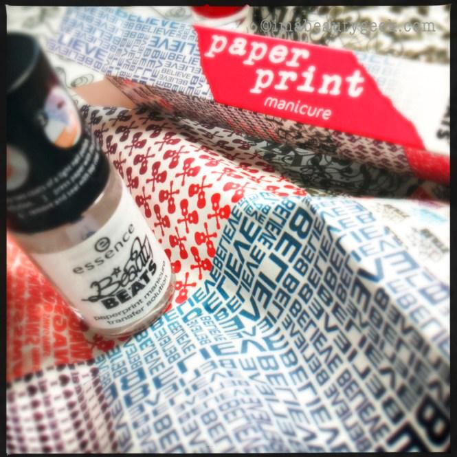 Essence Nail Art Paper Print Review Ideas