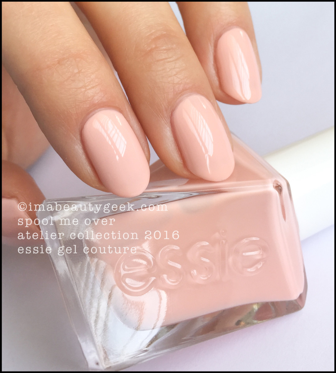 Essie Spool Me Over Gel Couture Swatches Review 2017