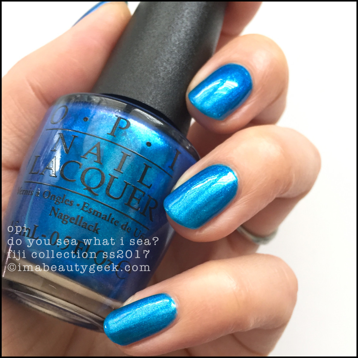 Opi Do You Sea What I Fiji Collection Swatches Review 2017