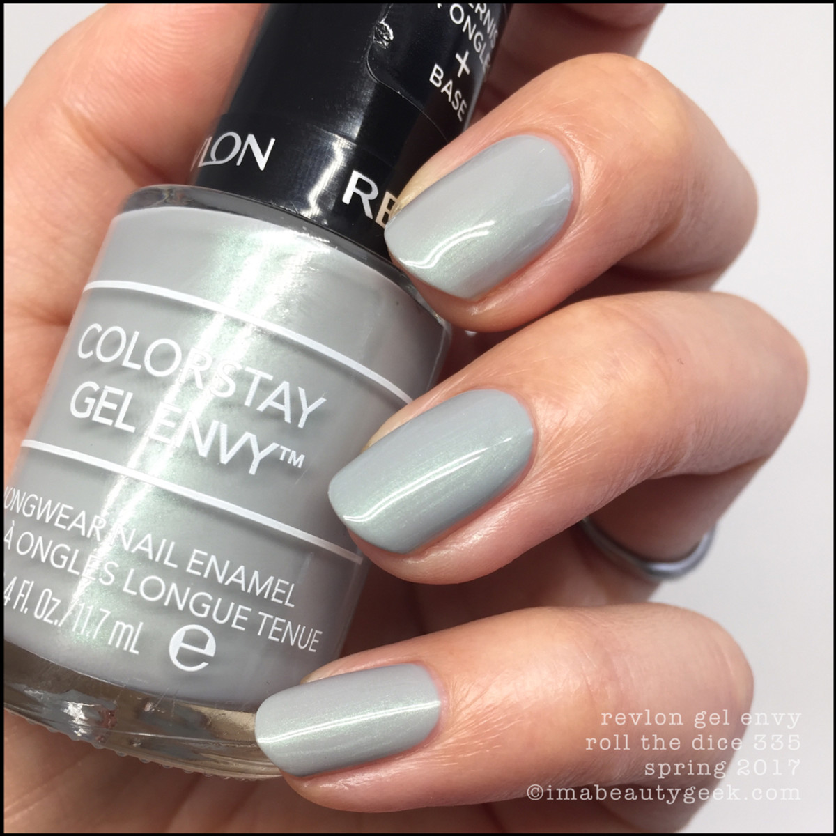 Revlon Roll The Dice Gel Envy Nail Polish Swatches
