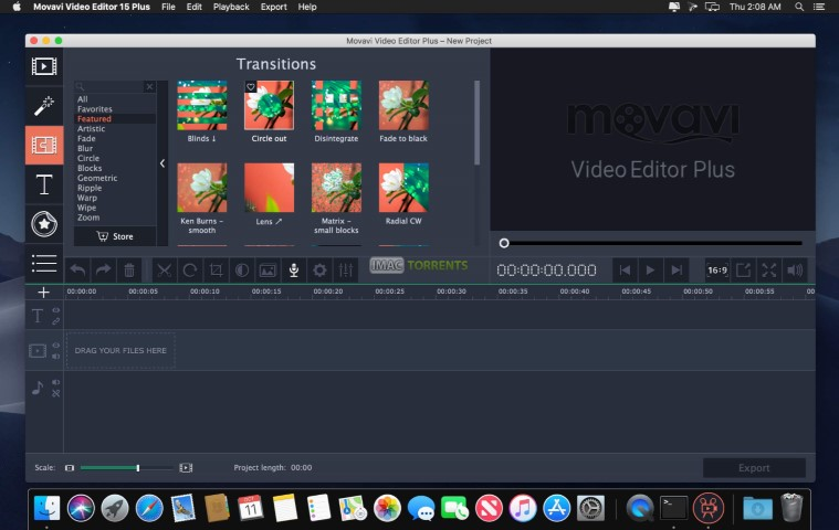 Movavi Video Editor 15 iMac Torrent