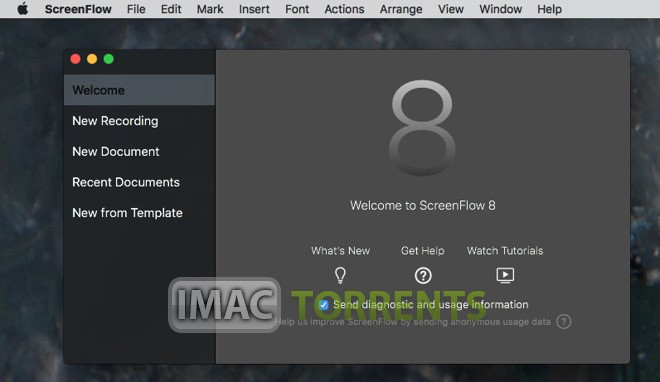 ScreenFlow 8.2.4 For Mac OS