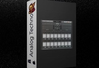 Photo of Electronik Sound Lab Analog Techno Drums 1.2.0 For Mac