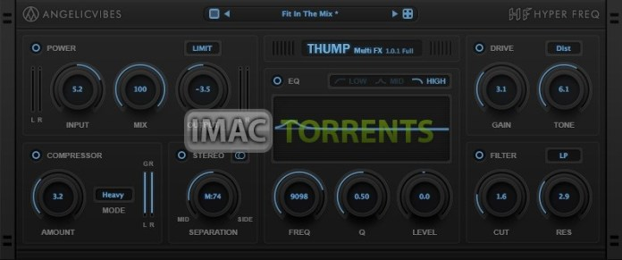 AngelicVibes Thump Multi Effects 2020 For macOS