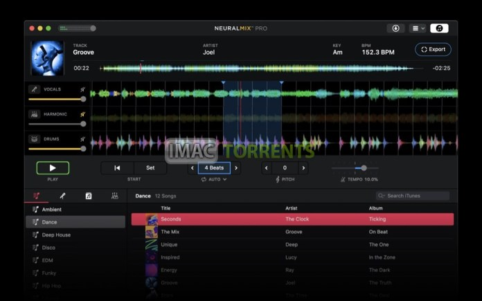 Algoriddim Neural Mix Pro 1.0.1 For Mac