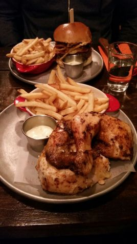 Half Chicken And Fries Gluten Free :D