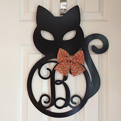 fall cat themed decor