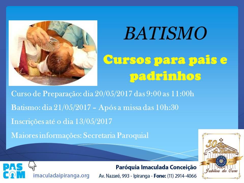Batismo 05-2017