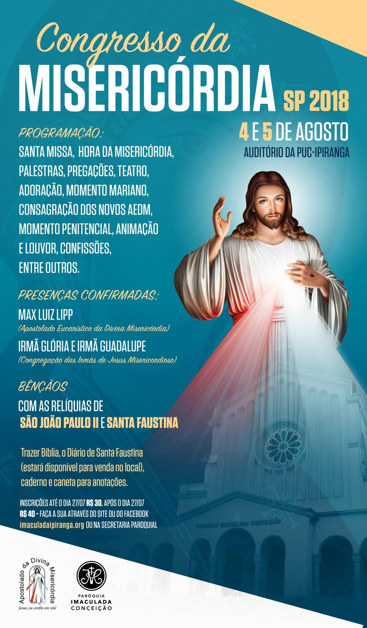 cartaz misericordia 2018AA