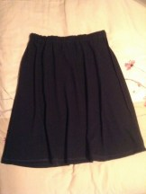 May 14, 20 - and my navy blue skirt